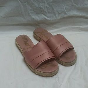 Sam Edelman Pink Slip On Shoes Size 8